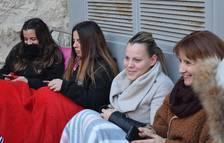 Más de doce horas de cola en la calle para ver al cantante Pablo López