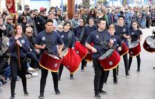 El IV Aplec de Bandes i el Concurs de Tambors omple de so el Serrallo