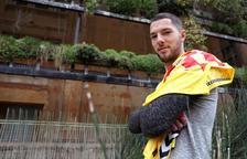 Tete Morente es uno de los jugadores más utilizados por Nano Rivas y un futbolista, que, poco a poco, va abriéndose camino en Nàstic y en Segunda División.