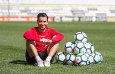 Guzzo vuelve a disfrutar del fútbol después de un calvario de ocho meses. El portugués no esconde que estuvo unos meses triste porque no dejaba atrás las molestias.