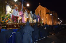 La procesión del Gremio de Marejants recorre las calles del Serrallo