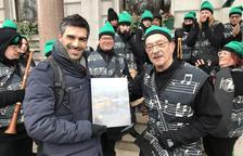 Los Sons de la Cossetània actúan en el desfile de St. Patrick de Londres