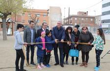 L'alcalde de Tarragona inaugura l'ampliació del pati de l'escola de Torreforta