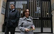 Begoña Floria, el 19 de enero del 2017 saliendo del Juzgado después de declarar por el caso Inipro.