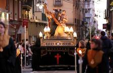 La processó dels Natzarens dóna el tret de sortida als dies forts de la Setmana Santa