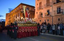 Emoció i devoció a la processó del Sant Enterrament