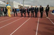 Inaugurada la pista d'atletisme pels Jocs Mediterranis 2018