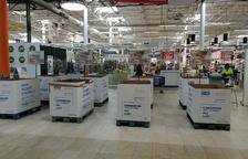 Se consiguieron más de 12.500 kilos en la Recollida d'Aliments de Reus y Tarragona