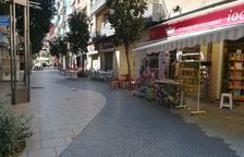 Salou trabaja para homogeneizar los cierres de terrazas comerciales