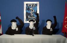 Imagen de archivo del anuncio del cese de la lucha armada el año 2011.