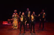El quintet vocal ugandès Aba Taano porta el seu gòspel africà al Castell de Paborde de la Selva