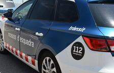 El detingut va ser interceptat per un sergent dels mossos d'esquadra després de perpetrar el robatori