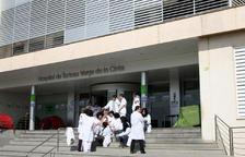Imatge de la façana de l'Hospital Verge de la Cinta de Tortosa.