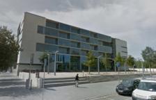Imagen de la fachada exterior de la Audiencia de Girona.