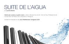 Cartel del concierto 'La Suite de l'Aigua'.