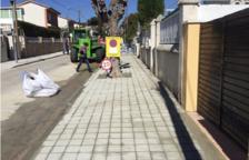 Calafell adjudica les obres del primer pla de reparació de voreres