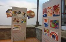 Imagen de la exposición 'Escoltant els colors'.