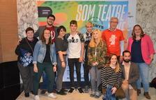 L'alcalde de Tarragona rep als participants de la 25a Mostra de Teatre Jove