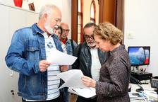 La CUP, ERC e ICV darán apoyo en el Pleno a una moción de la Marea Pensionista
