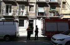 S'ensorra part del terra d'un pis Tarragona