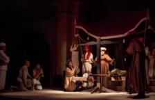 El Baill Parlat del Sant Crist de Salomó hace pleno en la primera función
