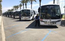 Aquest dissabte entren en servei noves connexions d'autobús entre el Pla de Santa Maria i Valls