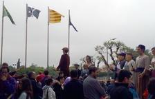 Cap de setmana sense bandera espanyola a l'Ajuntament dels Pallaresos