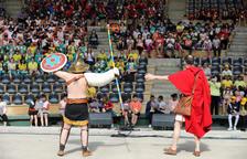 2.000 alumnos han jugado como lo hacían los romanos