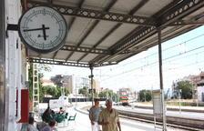 Imatge d'arxiu de l'estació de trens de Tortosa.