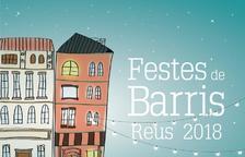 Imagen del cartel de las Fiestas de Barrios de Reus 2018.