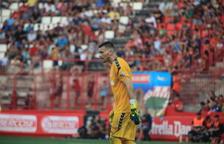 Stole Dimitrievski en un enfrentamiento con el Nàstic en el Nuevo Estadio. El portero es indiscutible bajo palos.