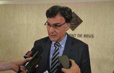 El concejal de Hacienda y Recursos Generales, Joaquim Enrech, ha comparecido este miércoles ante los medios.