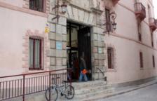 Imatge de la façana dels Jutjats de Tortosa.