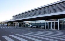 Imagen del exterior del Aeropuerto de Reus.