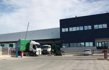 Façana principal de la nau d'ID Logistics a Vila-rodona, ocupada per Privalia.