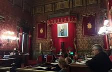 Imatge del darrer ple a l'Ajuntament de Tarragona.