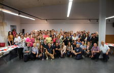 75 voluntarios de la Bisbal han sido homenajeados