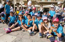 Cerca de 2.000 niños viven la fiesta de Corpus en el Mercadal