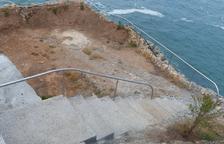Salou ultima los trabajos para abrir al público la Cala Morisca por Sant Joan