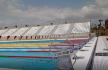 Tornen a ajornar la inauguració de la piscina olímpica
