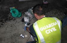 Detienen nueve miembros de una organización criminal dedicada al tráfico de drogas en el Ebro
