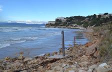Un estudio determinará los motivos de la regresión de las playas de Salou
