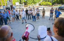 La Marea Pensionista, en desacord amb la cessió dels terrenys per construir la residència de l'Arrabassada