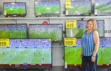 Augmenta la venda de televisors pel Mundial a les botigues de Tarragona