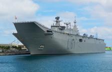 L'Armada envia el portaaeronaus 'Joan Carles I' a Tarragona per «realçar» els Jocs Mediterranis