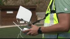 Mont-roig del Camp recurre a un dron para identificar vehículos que intentan esquivar controles policiales