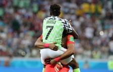 Musa fue el autor de los dos goles de Nigeria.