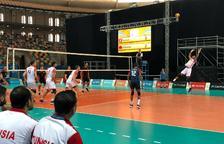 Empieza la primera ronda de Voleibol con el dominio de Túnez contra Albania