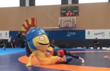 Tarracvs es posa a la pell dels esportistes que practiquen lluita
