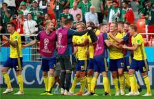 México cae 0-3 contra Suecia pero resucita gracias a Corea